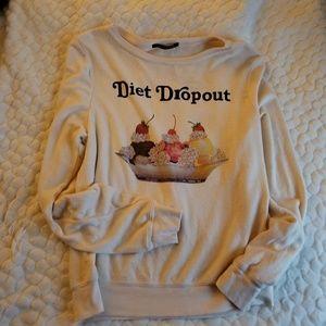 NEW Wildfox Jumper sweatshirt sweater diet dropout